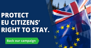 Protect EU citizens' right to stay campaign graphic